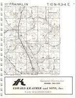 Map Image 009, Sauk County 1974